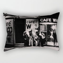 Greenwich Village Vintage Photography Rectangular Pillow