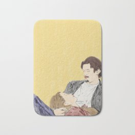 Before Sunrise - Watercolor Bath Mat