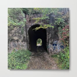 The Screaming Tunnel Metal Print