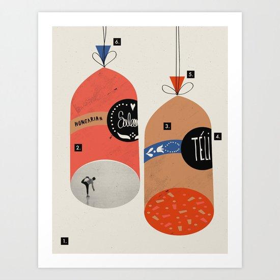COLORADORE 023 Art Print