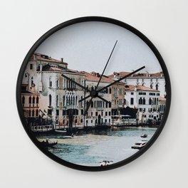 venice ii / italy Wall Clock