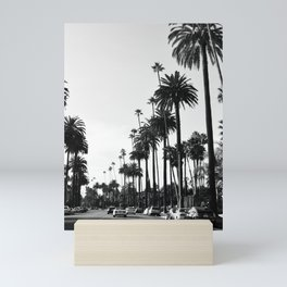 Los Angeles Black and White Mini Art Print