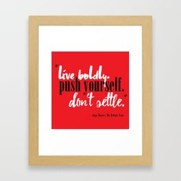 Me Before You by Jojo Moyes Quote Framed Art Print