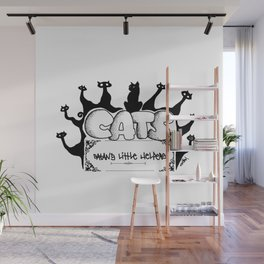 Cats from hell Wall Mural