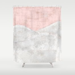In Snow The Winters Magic Flys Shower Curtain