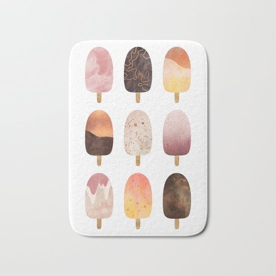 Pretty Popsicles 1 Bath Mat