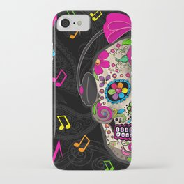 Sugar Skull Music iPhone Case