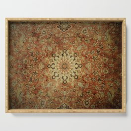 Traditional Sunshine rug Serving Tray
