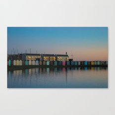 The Huts Canvas Print