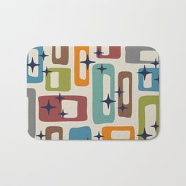 Retro Mid Century Modern Abstract Pattern 224 Bath Mat