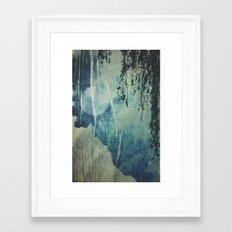 dreaming under the birch Framed Art Print
