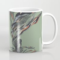 huebucket Mugs featuring Dream Again by Huebucket