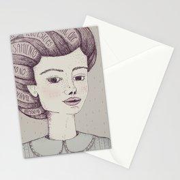 Tengo tanto sentimiento Stationery Cards