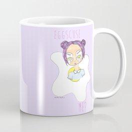 Eggscuse Me? Coffee Mug