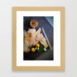 Crackers & Jam Framed Art Print