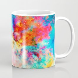 Colorful Abstract Nebula Coffee Mug
