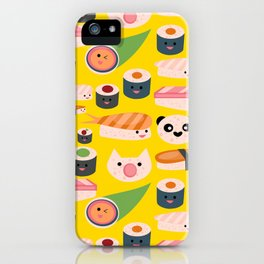 Kawaii sushi sushi iPhone Case