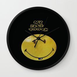 MY BLUE TOOTH - ©2012 Wall Clock