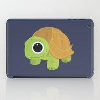sea turtle iPad Cases featuring Turtle by Adamzworld