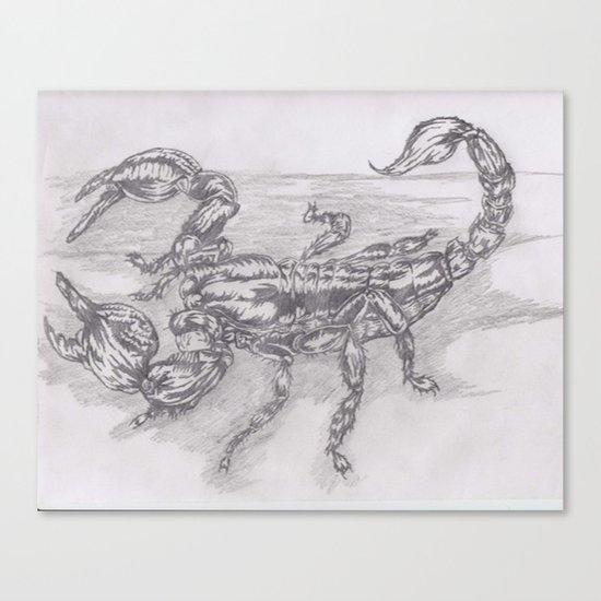 emperor scorpion Canvas Print
