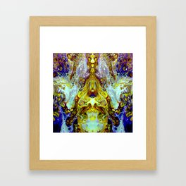 mirror 11 Framed Art Print