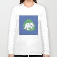 dinosaur Long Sleeve T-shirts featuring Dinosaur by Caroline Provine
