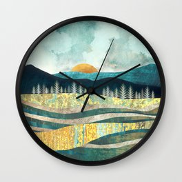 Late Summer Wall Clock