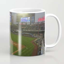 Rainy Day in May at Citi Field Coffee Mug