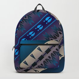 Elk Spirit (Blue) Backpack