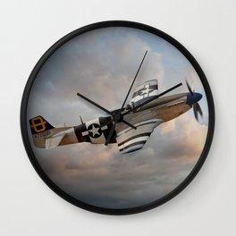 Jumpin Jacques - P51 Mustang Wall Clock