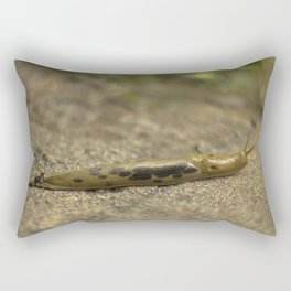 Slug macro photography Rectangular Pillow