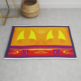 Hot Summer with May in May - shoes stories Rug