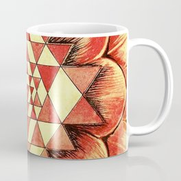 From the Heart of Devi - Sri Chakra Coffee Mug