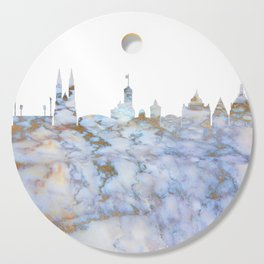 Nürnberg Skyline Germany Cutting Board