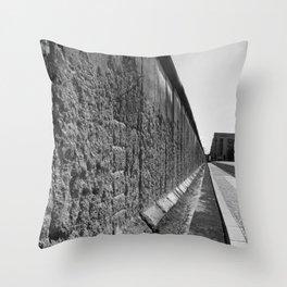 The Berlin Wall Throw Pillow