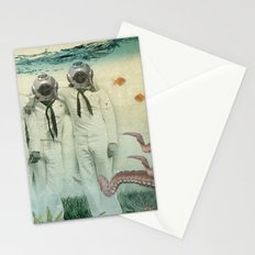octopuses garden Stationery Cards