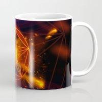 pentagram Mugs featuring Pentagram  by nicky2342