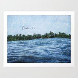 Paradise lost Art Print