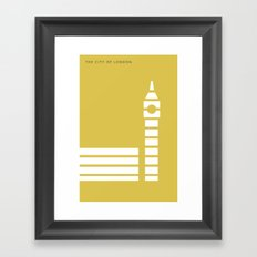 Iconic London: Palace of Westminster Framed Art Print
