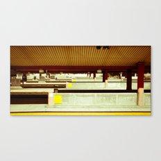 Platform A Canvas Print