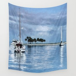 Lost In Tranquility Wall Tapestry