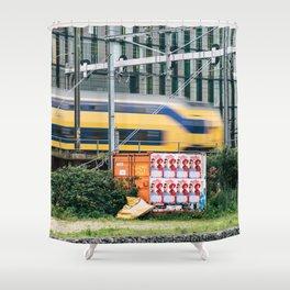 Commuter Train Shower Curtain