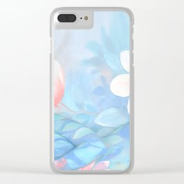 Blue Flowers Dream - Bodyart - Photography by Lana Chromium - beauty - woman - body - soul Clear iPhone Case