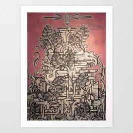 Great, Soft, White Hope Art Print