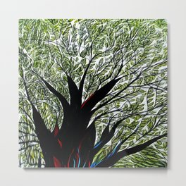 Dreamland Tree Metal Print