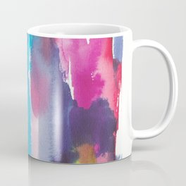 180812 Abstract Watercolour Expressionism 12 | Colorful Abstract | Modern Watercolor Art Coffee Mug