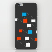 building iPhone & iPod Skins featuring building by Matt Edward