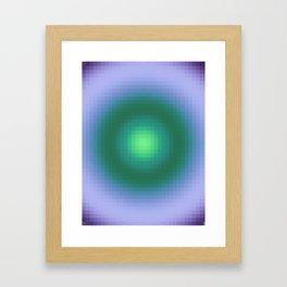 Ripple IV Pixelated Framed Art Print
