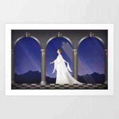 Deco Leia (32x20) Art Print