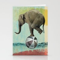balance Stationery Cards featuring Balance by Vin Zzep